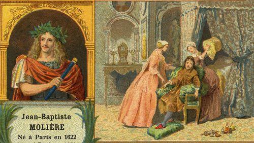 """La dictée de Rachid Santaki : extrait du """"Malade imaginaire"""" de Molière"""