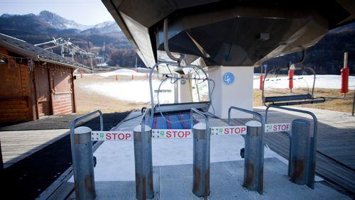 Fermeture des stations de ski : déjà plus de 2 milliards d'euros de manque à gagner
