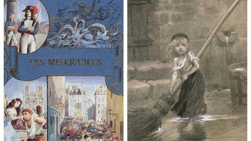 """La dictée de Rachid Santaki : extrait des """"Misérables"""" de Victor Hugo"""