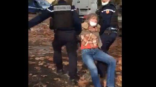 La vidéo de l'arrestation visionnée plus de 320.000 fois sur Twitter.