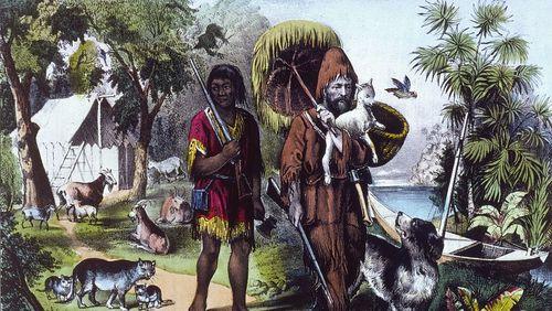 Épisode 1 : Seul sur le sable avec Robinson Crusoé