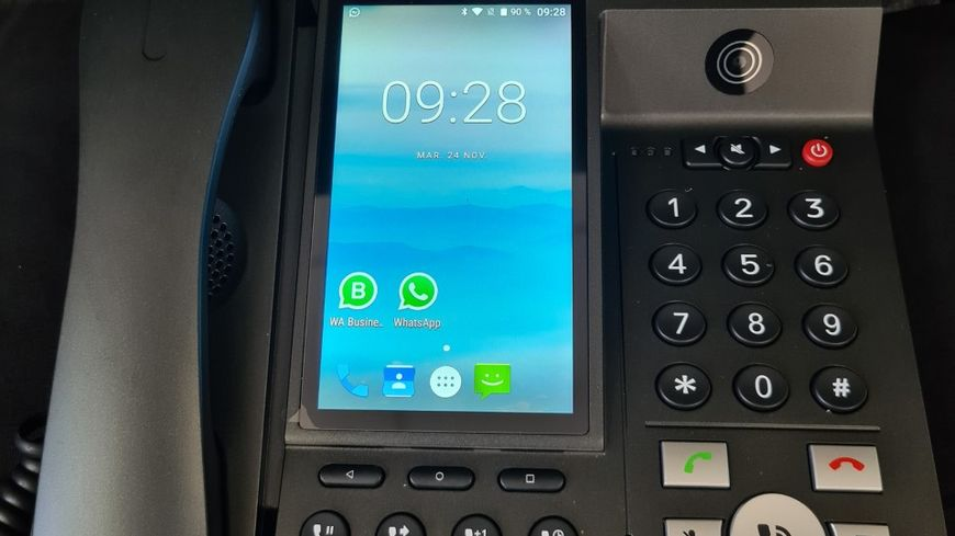 """Le téléphone fixe qui fait visio de la """"Vie Mobile"""" à Saint-Hilaire-du-Harcouët"""