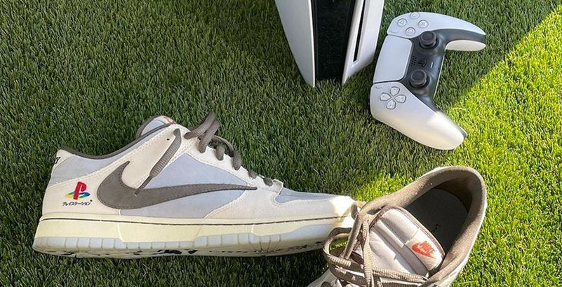nike chaussure playstation