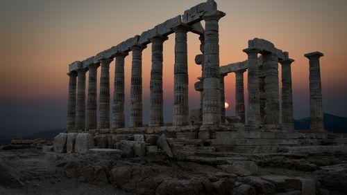 Les ruines, piliers du souvenir