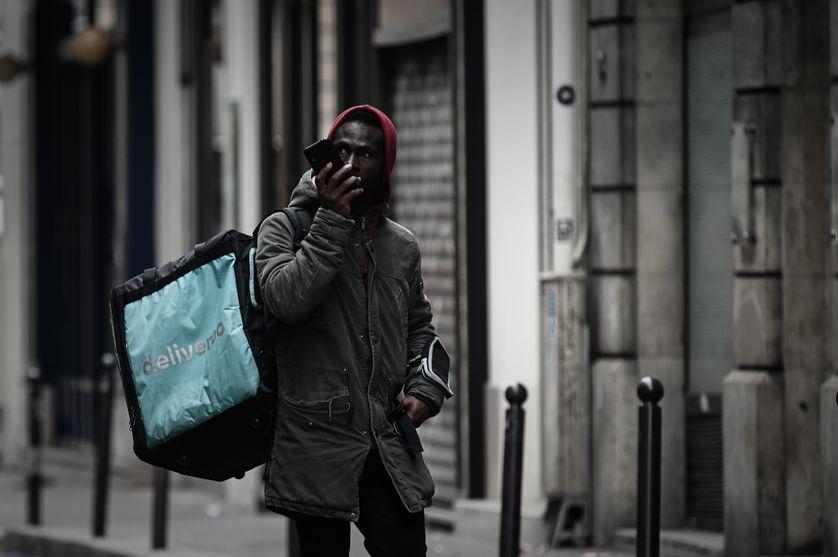 Livreur Deliveroo à Paris