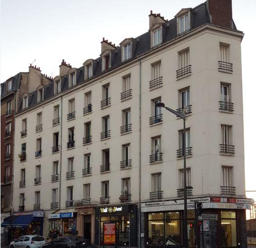 L'immeuble de l'avenue Wilson à Saint-Denis, squatté par des dealers
