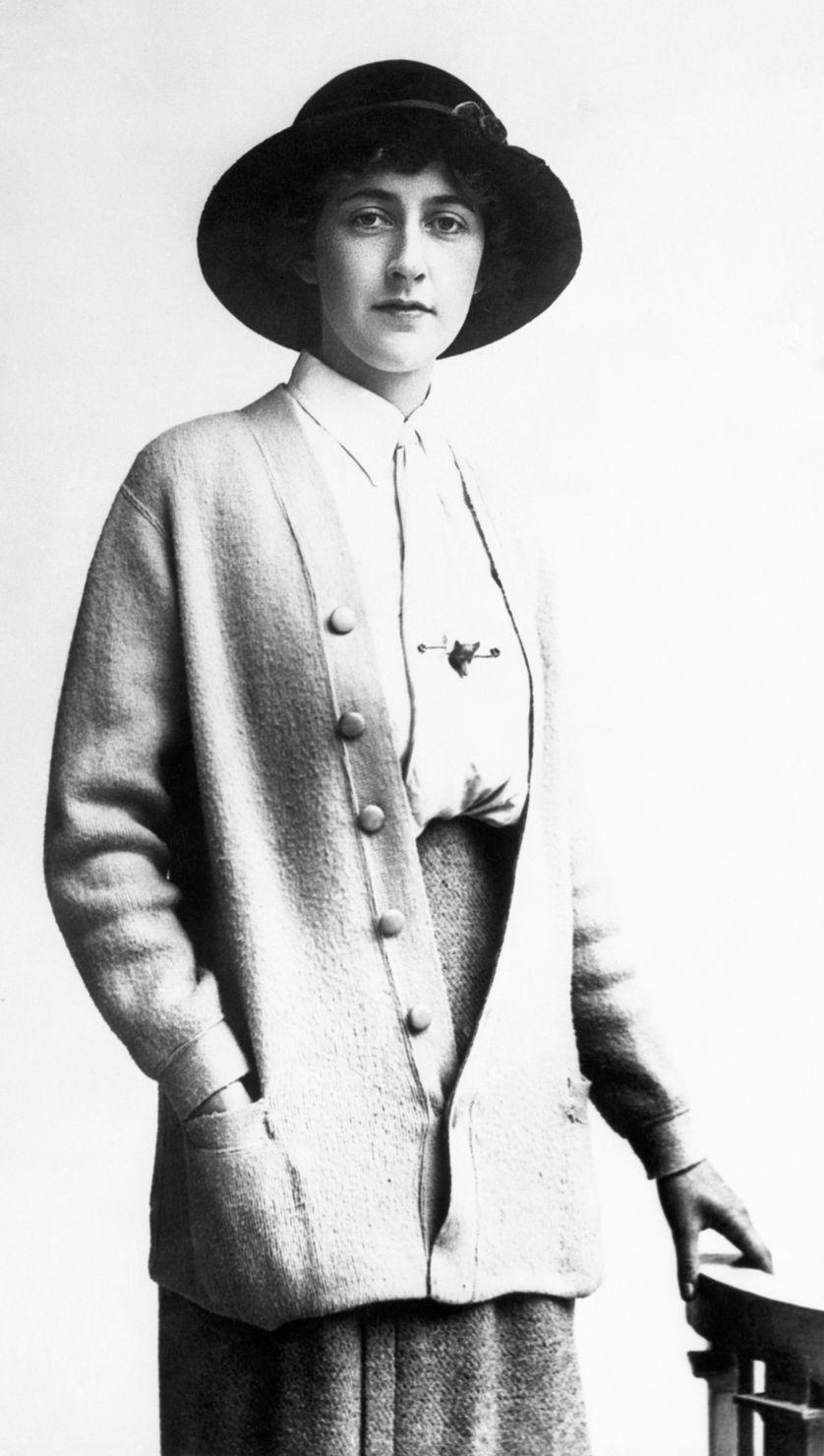Agatha Christie (1890-1976).