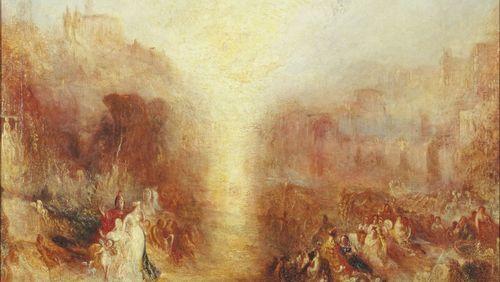 Les peintures et aquarelles de Turner