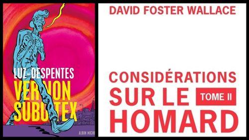 """""""Vernon Subutex"""" en BD par Virginie Despentes et Luz et """"Considération sur le homard"""" de David Foster Wallace, la littérature autrement"""