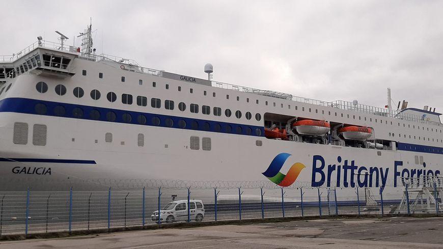 El ferry de Brittany Ferries Galicia pudo atracar el domingo 20 de diciembre de 2020 en Cherburgo ... pero ¿cuándo volverá?