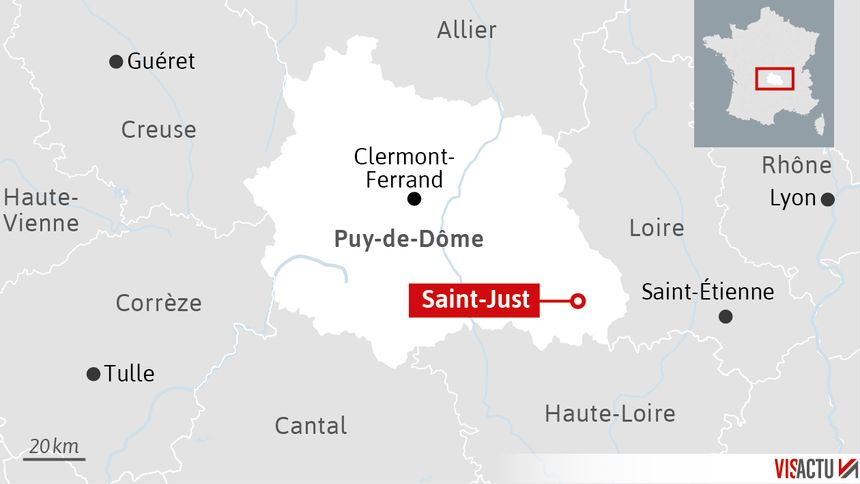 Trois gendarmes ont été tués à Saint-Just dans le Puy-de-Dôme