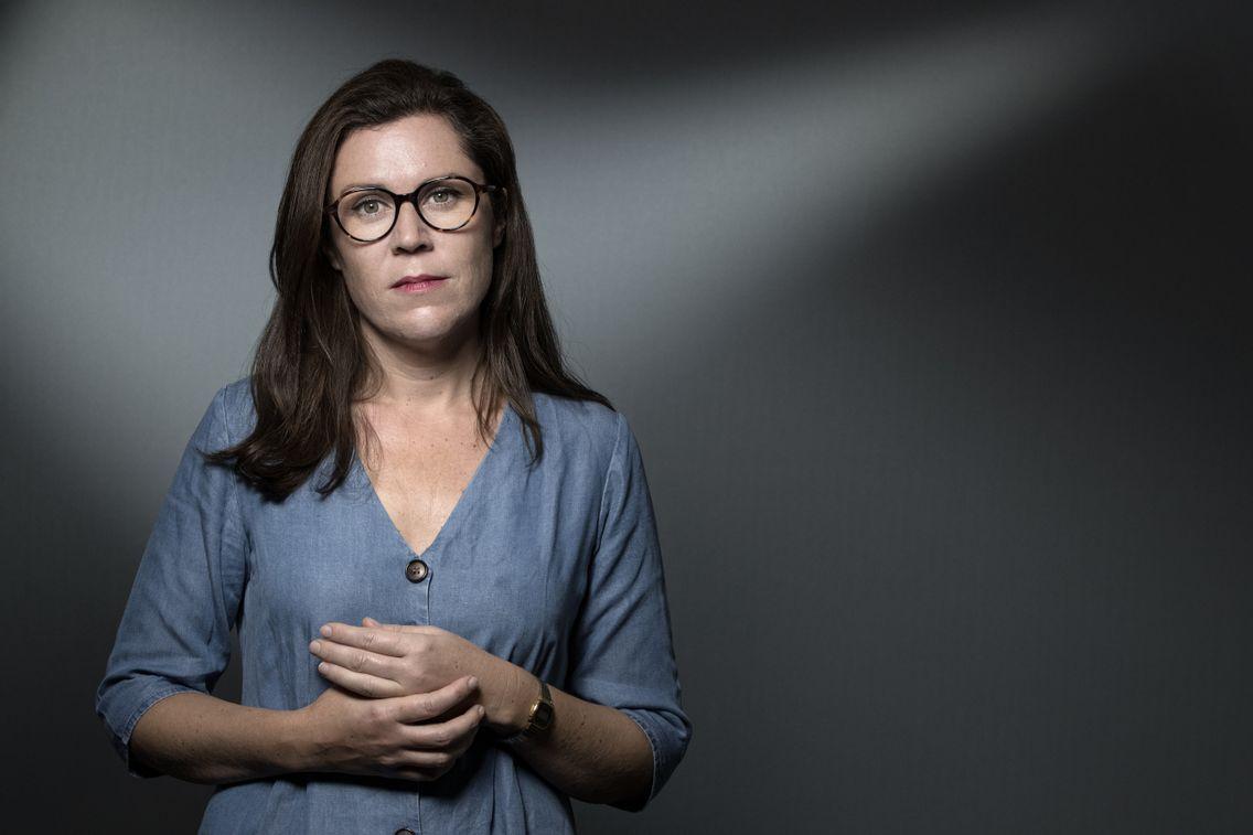 L'écrivaine Clémentine Mélois, 2019