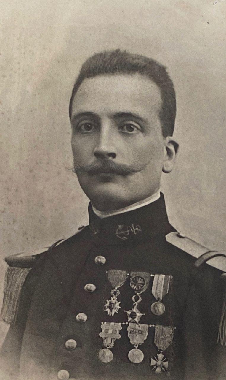 Le capitaine Etienne d'Hotelans
