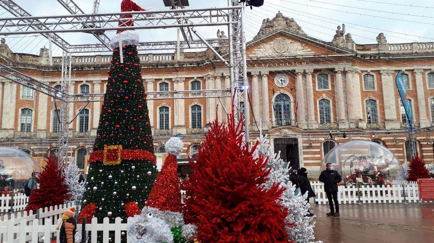 Un des sapins de la place du Capitole de Toulouse a été volé (illustration)