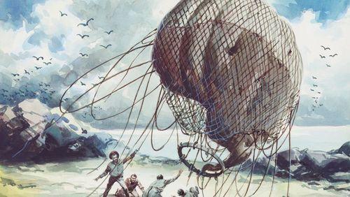 """La dictée de Rachid Santaki : extrait de """"L'île mystérieuse"""" de Jules Verne"""