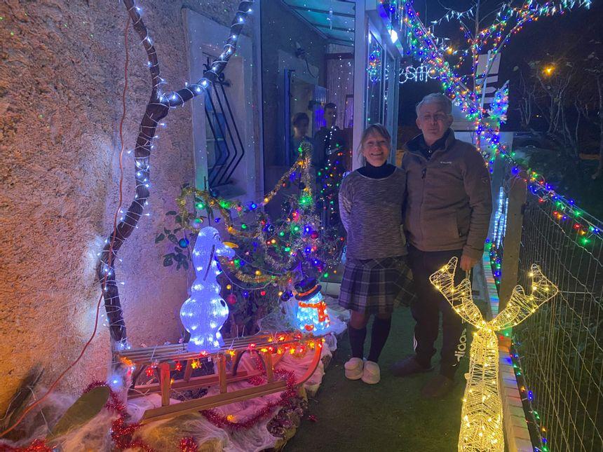 La casa iluminada de Chancelade con Patrick y Annabelle