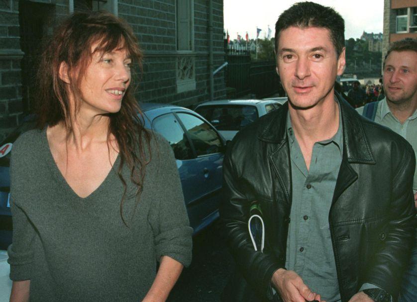 Jane Birkin et Etienne Daho en 1999