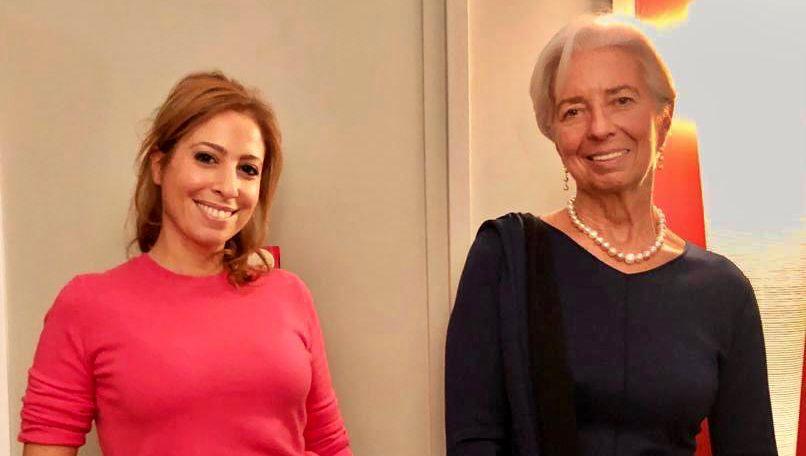 """Christine Lagarde : """"Quand j'arrive à faire 50 mètres sous l'eau sans respirer, je me sens très puissante"""""""