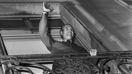 Giscard à la barre de l'économie