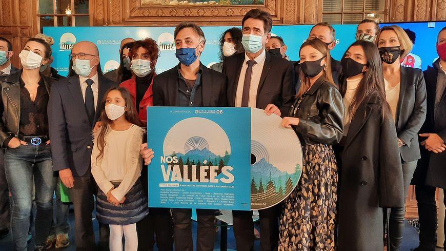 """Lancement du disque solidaire """"Nos vallées"""" du 21 décembre 2020"""