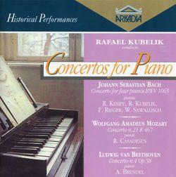 Concerto pour 4 claviers en la min BWV 1065 : 3. Allegro - RUDOLF KEMPE