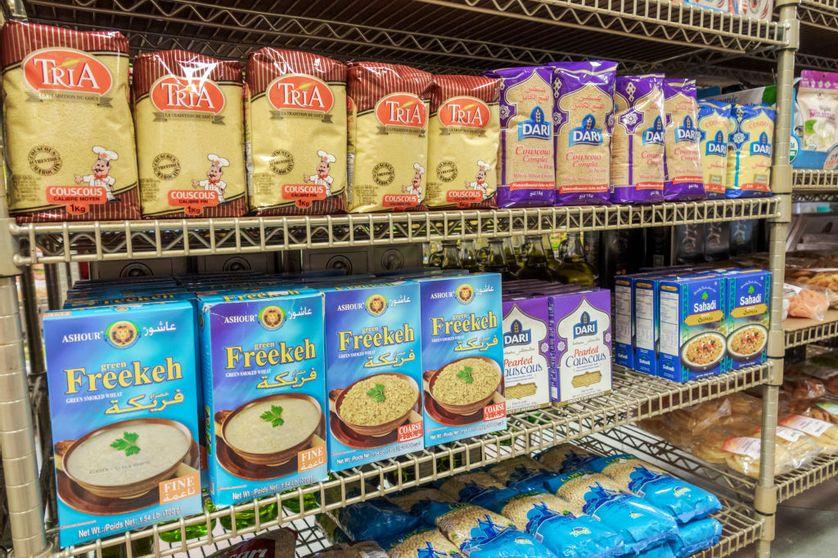 Rayon d'un supermarché en Floride, 2017