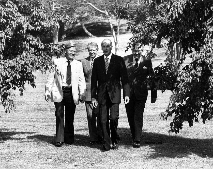 La France de Giscard : la fin du mythe de la grandeur ?
