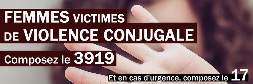 Violences conjugales - 3919 numéro d'urgence