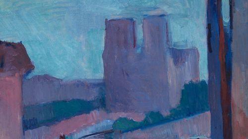 Notre Dame de Paris et autres œuvres de jeunesse de Matisse