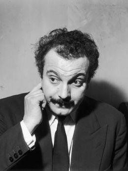 Portrait de Georges Brassens en 1950.