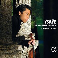 Sonate pour violon en mi min op 27 n°4 : 1. Allemande. Lento maestoso - KERSON LEONG