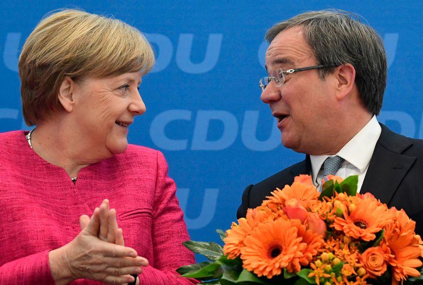 Armin Laschet : Merkel, Angela en moins ?