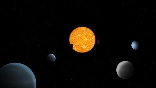La découverte d'un système planétaire unique