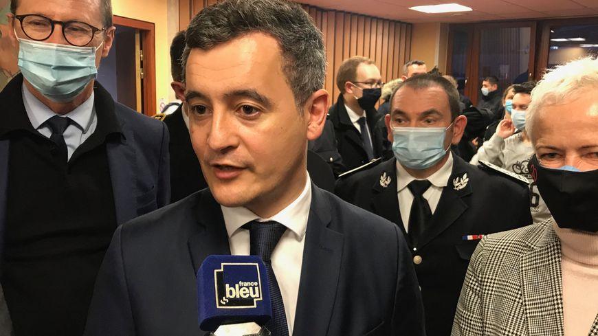 Gérald Darmanin annonce des policiers supplémentaires à Strasbourg et Colmar