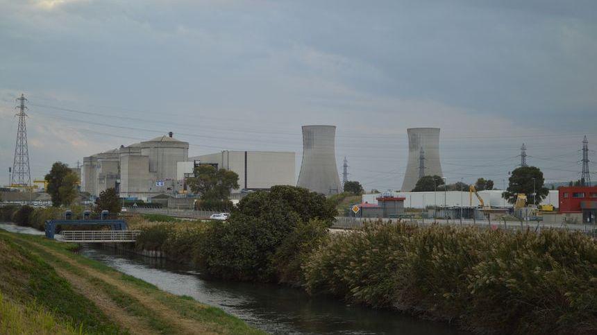 Centrale nucléaire de Tricastin dans la Drôme.