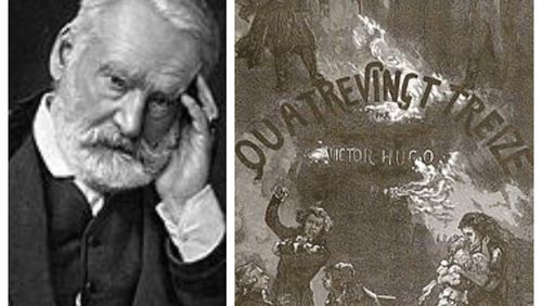"La dictée de Rachid Santaki : extrait de ""Quatrevingt-treize"" de Victor Hugo"