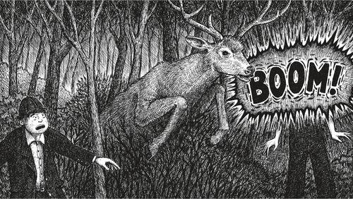 L'Accident de chasse : un Fauve sort de la nuit