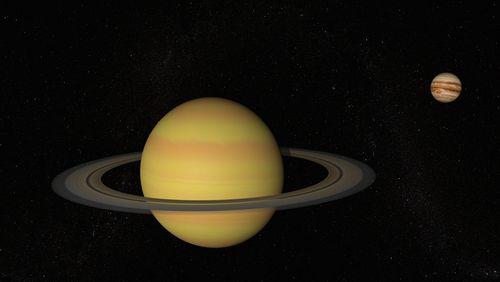 Jupiter et Saturne : le bal des géantes