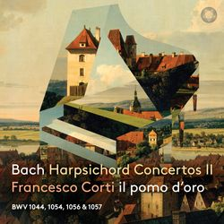 Concerto pour clavecin 2 flûtes à bec cordes et basse continue en fa min BWV 1056 : 3. Presto - FRANCESCO CORTI