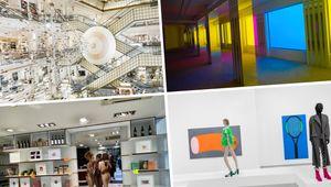 Aperçus des expositions de Prune Nourry, Philippe Parreno et Daniel Buren, JR et Raphaëla Simon