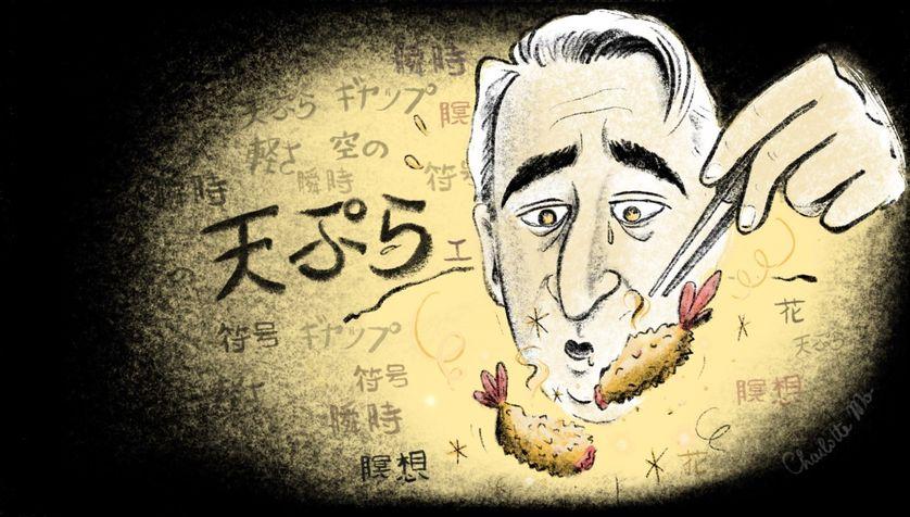 Steak-frites et tempura avec Roland Barthes