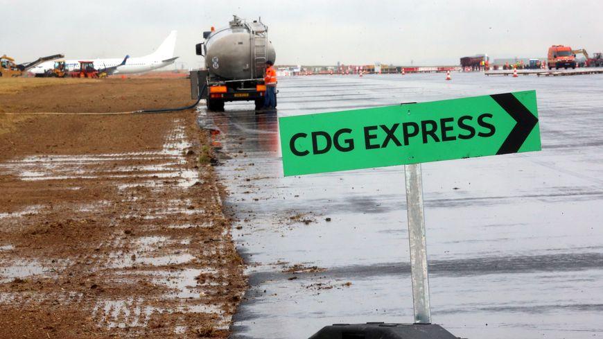 CDG Express : le chantier a repris