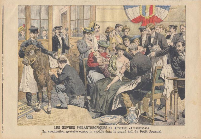 """Professeur Lépine : """"Les mêmes catastrophes que jadis pourraient se reproduire en France si l'on cessait de vacciner contre la variole"""""""