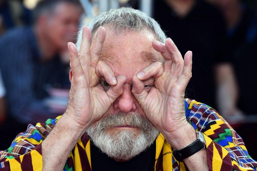 Le réalisateur anglais Terry Gilliam lors du Gala du CineMerit. Munich, Allemagne, le 2 juillet 2018.