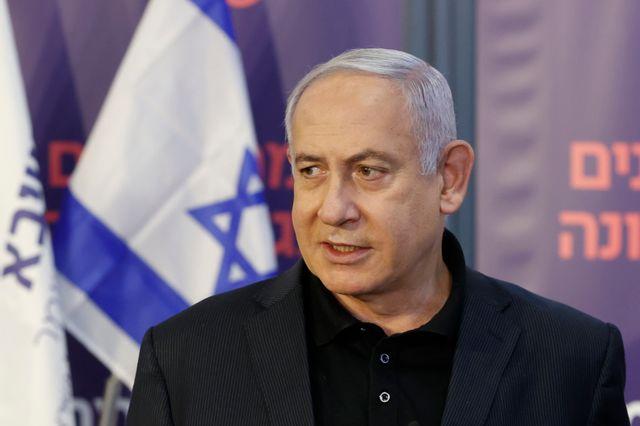 Le premier ministre Benjamin Netanyahu lors de sa vaccination anti-Covid le 19 décembre