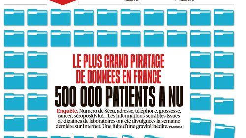 Santé : fuite des données de 500 000 patients