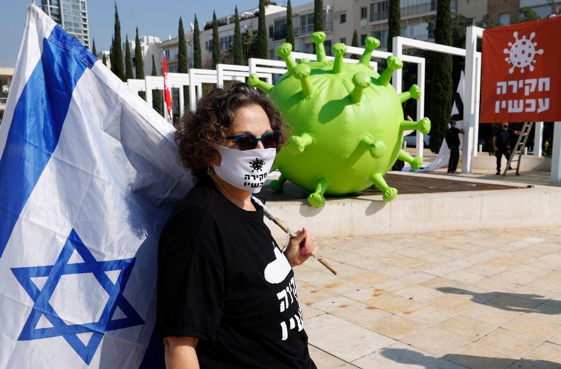 Alors que pour la 4e fois en 2 ans, les Israéliens vont devoir élire leurs députés, certains ont manifesté contre le Premier ministre Benjamin Netanyahu le 5 janvier à Tel Aviv