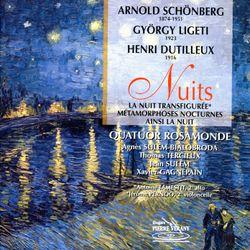La nuit transfigurée op 4 : Sehr ruhig - pour sextuor à cordes - ANTOINE TAMESTIT