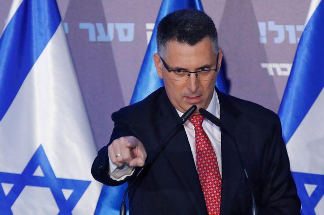 Gideon Saar le 16 décembre 2019 près de Tel Aviv