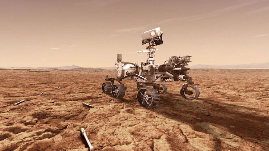 Une entreprise du Vaucluse a participé à la création du robot Perseverance envoyé sur Mars - France Bleu